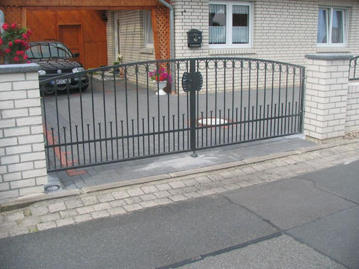 Bild 6: Zäune - Toranlagen - Metall -Tore - Geländer beste Preise