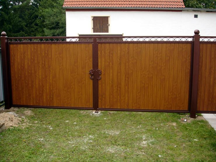 Bild 4: Zäune - Toranlagen - Metall -Tore - Geländer beste Preise