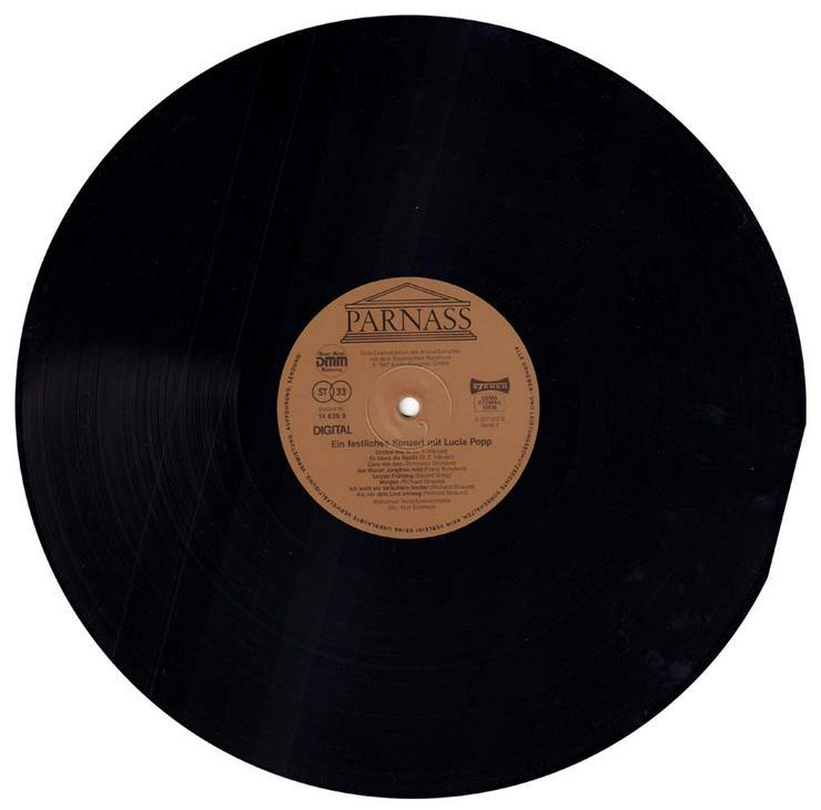 Bild 4: Schallplatte Vinyl 12'' LP - Ein festliches Konzert mit Lucia Popp - von 1987
