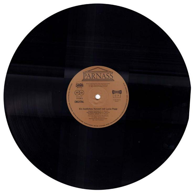Bild 3: Schallplatte Vinyl 12'' LP - Ein festliches Konzert mit Lucia Popp - von 1987