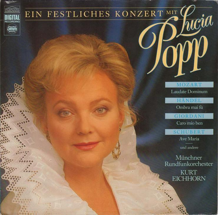 Schallplatte Vinyl 12'' LP - Ein festliches Konzert mit Lucia Popp - von 1987 - LPs & Schallplatten - Bild 1