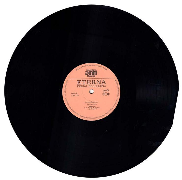 Bild 4: Schallplatte Vinyl 12'' LP - Virtuosi Saxoniae - Ludwig Güttler