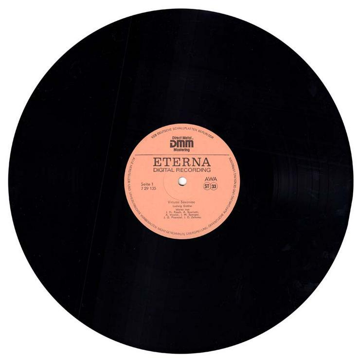 Bild 3: Schallplatte Vinyl 12'' LP - Virtuosi Saxoniae - Ludwig Güttler