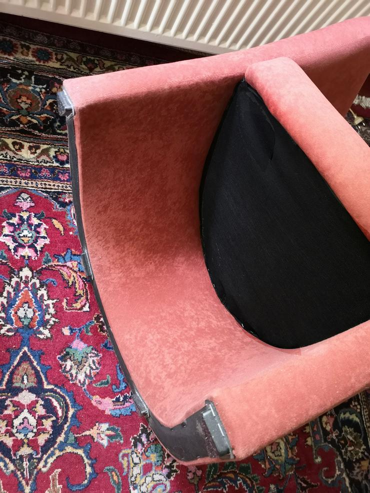 Bild 5: 2  gepolsterte Clubsessel Farbe rostbaraun, fast neuwertig