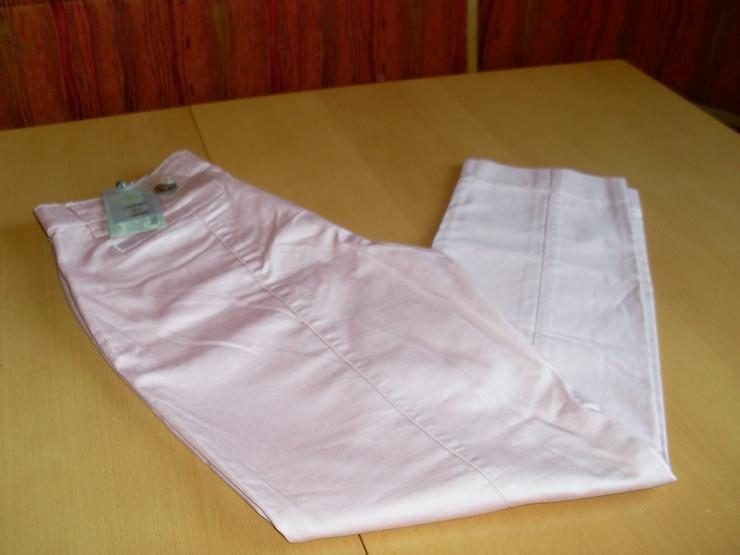 NEU: Damen Stretchhose rosa von ashley brooke Gr. 19 (38) - W26-W28 / 36-38 / S - Bild 1