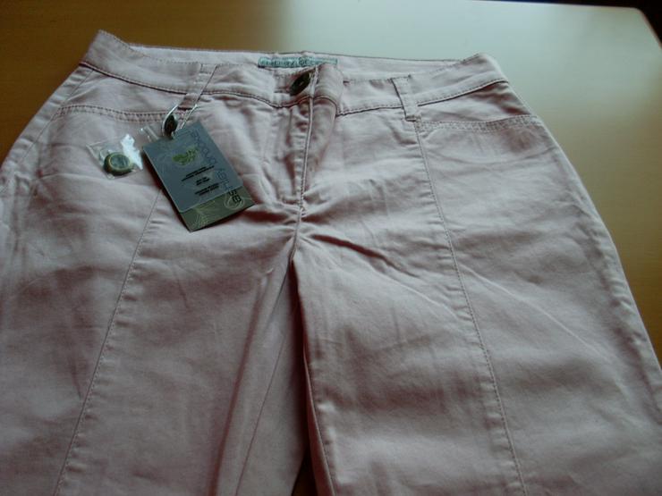 Bild 3: NEU: Damen Stretchhose rosa von ashley brooke Gr. 19 (38)