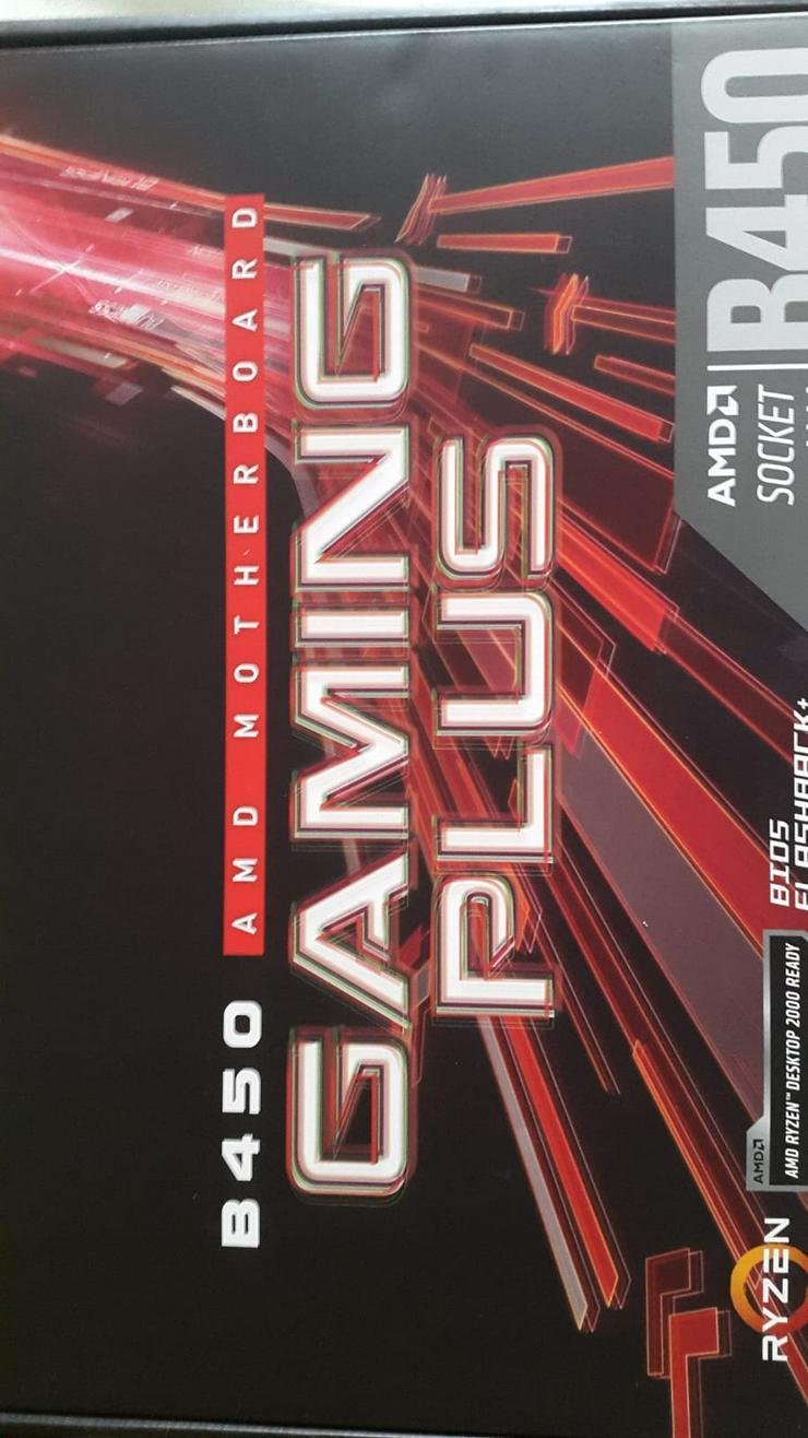 AMD Mainboard B450 - Festplatten - Bild 1
