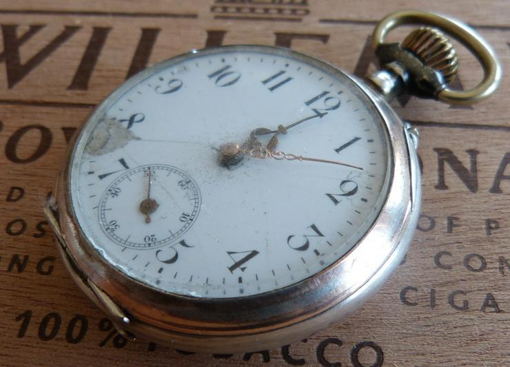 Antike Taschenuhr 800er Silber