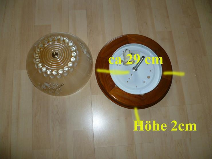 Bild 5: Runde Deckenlampe