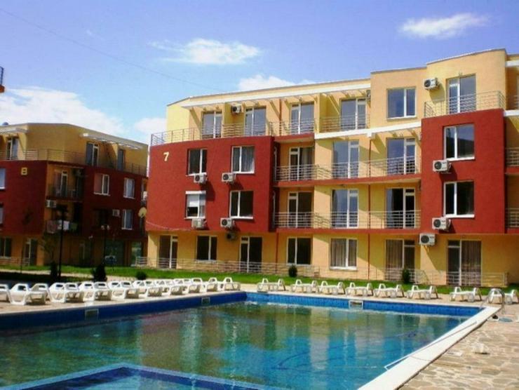 Ein möbliertes 1-Räum Wohnung im Sunny Day 5-Komplex