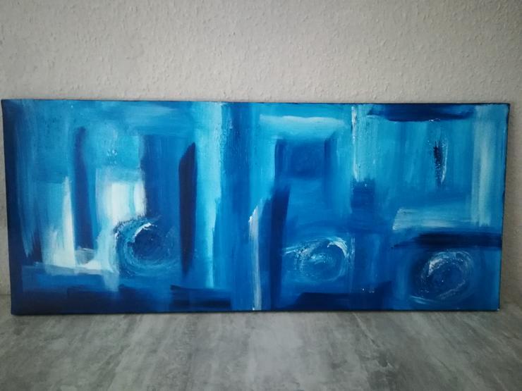 Acrylbild abstrakt 70x30cm - Weitere - Bild 1