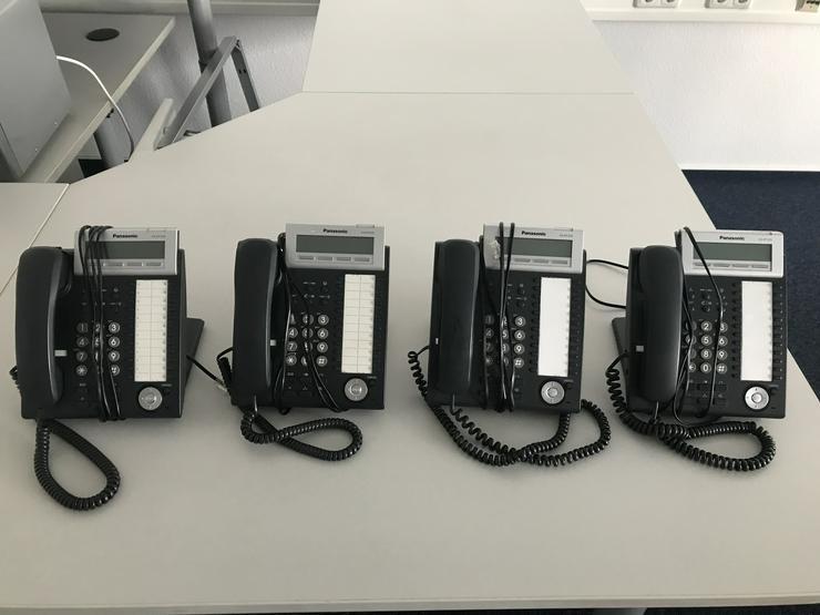 4 x Panasonic KX-DT333 Festnetztelefone