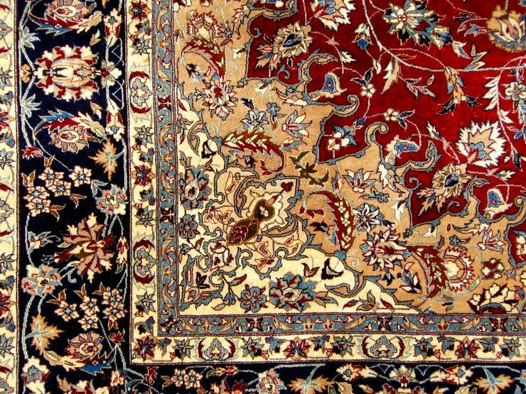Bild 4: Orientteppich Isfahan exorbitant 310x250 TOP (T061)