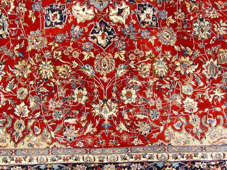 Bild 2: Orientteppich Isfahan exorbitant 310x250 TOP (T061)