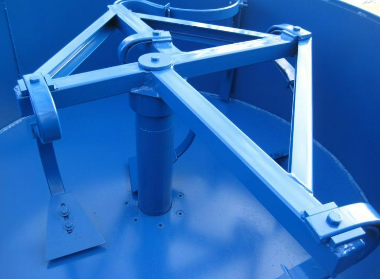 Bild 3: Betonmischer Mischer mit elektrischem Antrieb Mischmaschine Zementmischer 1200L