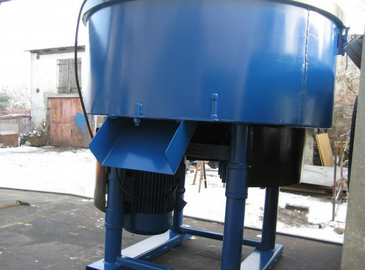 Bild 2: Betonmischer Mischer mit elektrischem Antrieb Mischmaschine Zementmischer 1200L