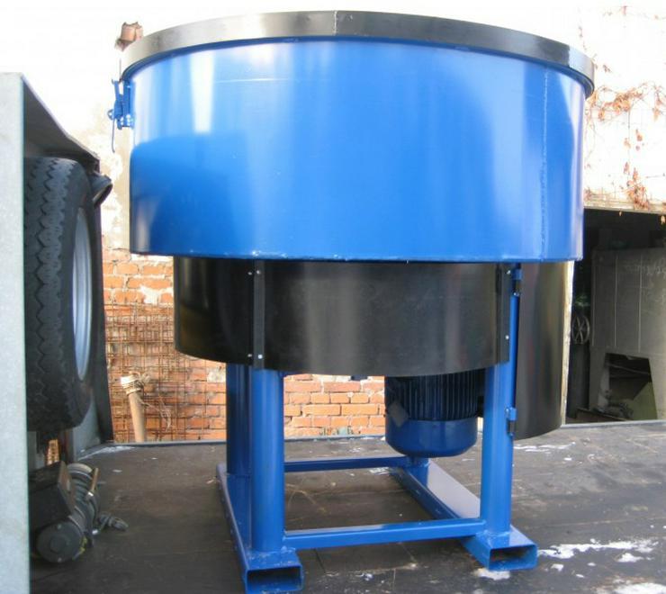 Betonmischer Mischer mit elektrischem Antrieb Mischmaschine Zementmischer 1200L - Bagger - Bild 1