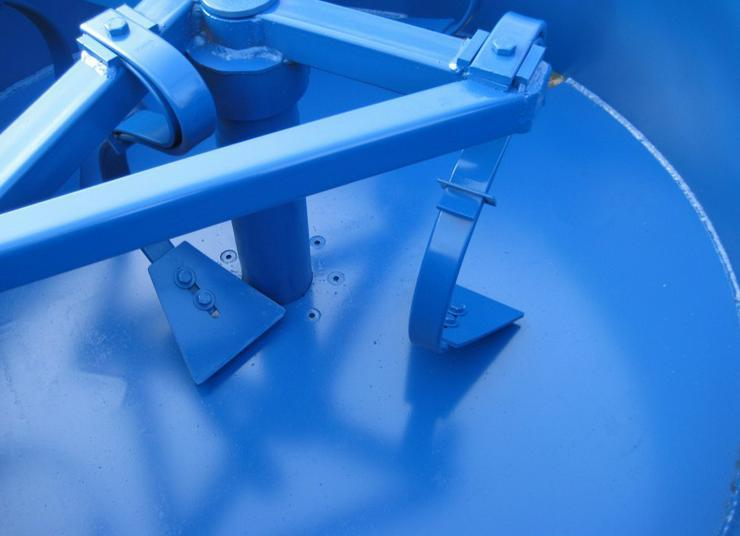 Bild 4: Betonmischer Mischer mit elektrischem Antrieb Mischmaschine Zementmischer 1200L