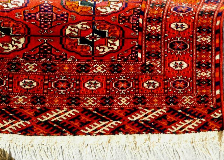 Bild 4: Orientteppich echter Buchara superfein antik (T065)