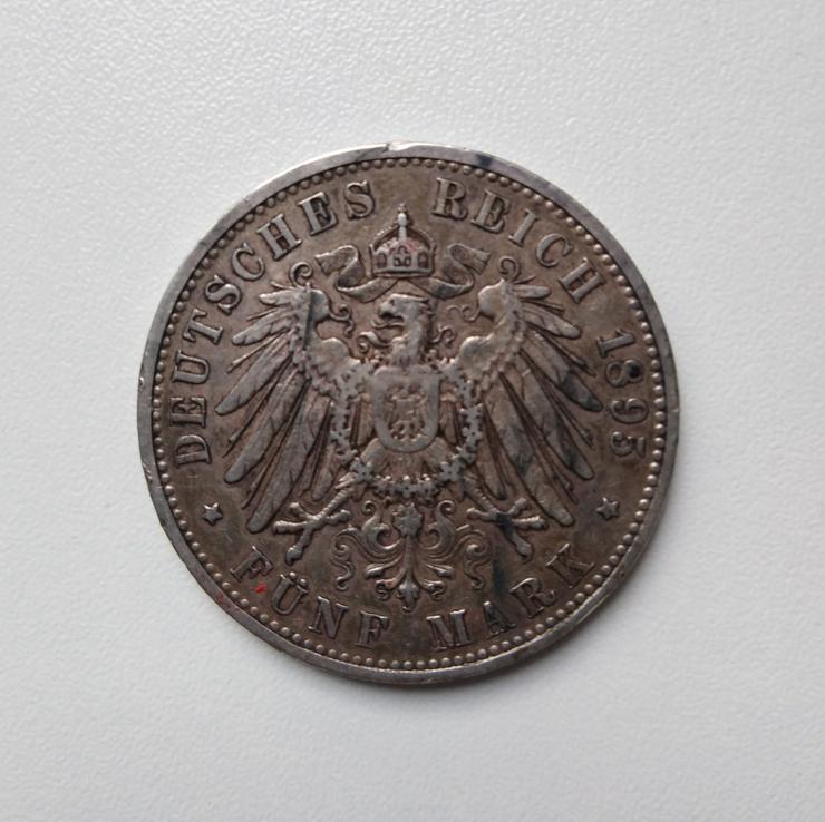 5 Mark Münze, Württemberg