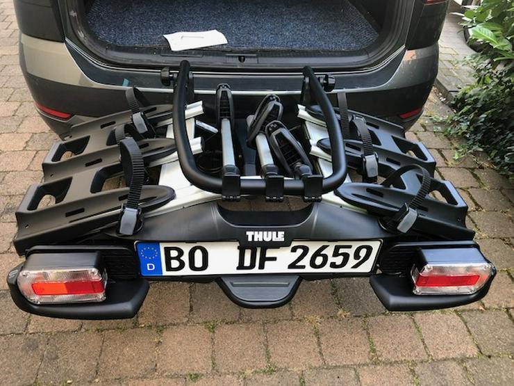 Bild 5: Verleih Radträger Thule VeloCompact 926 / 927 für 3x Fahrräder auf Anhängerkupplung