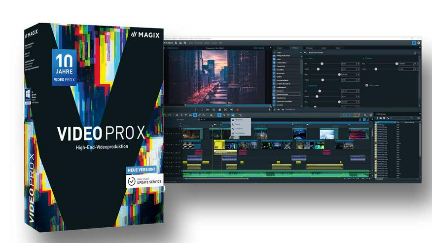 MAGIX Video Pro X / High-End-Videoproduktion Neu & OVP - Grafik, Audio, Design & Multimedia - Bild 1
