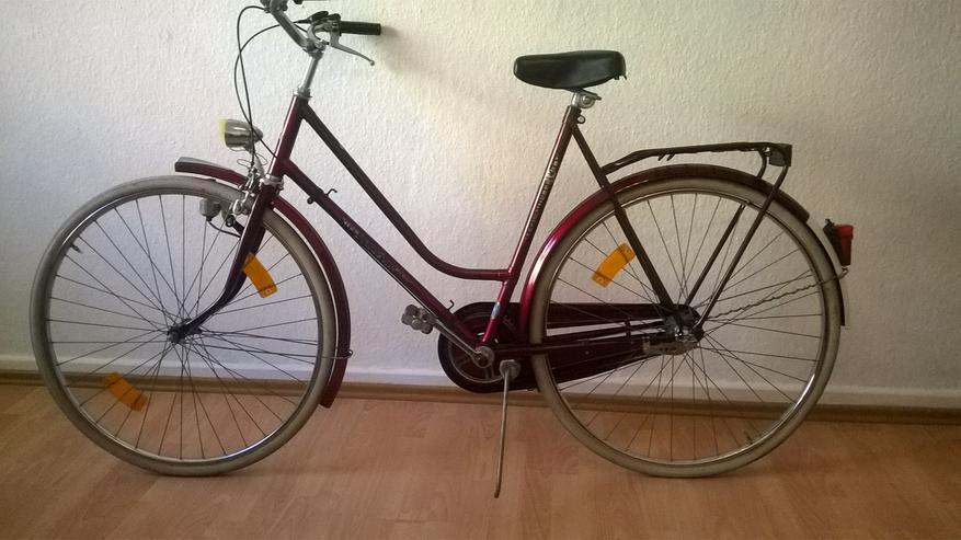 Vier Fahrräder  zu verkaufen