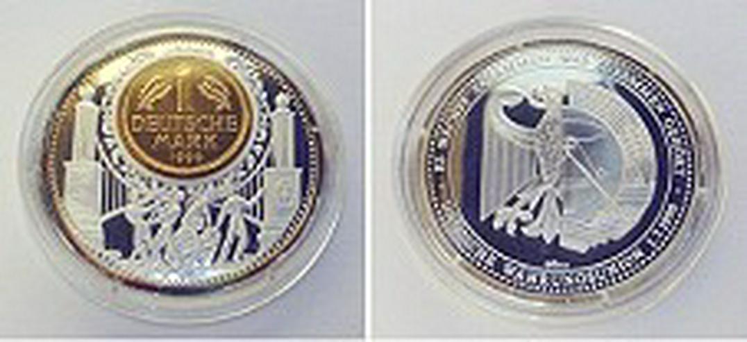 Silber-Gedenkprägung zur Währungsunion