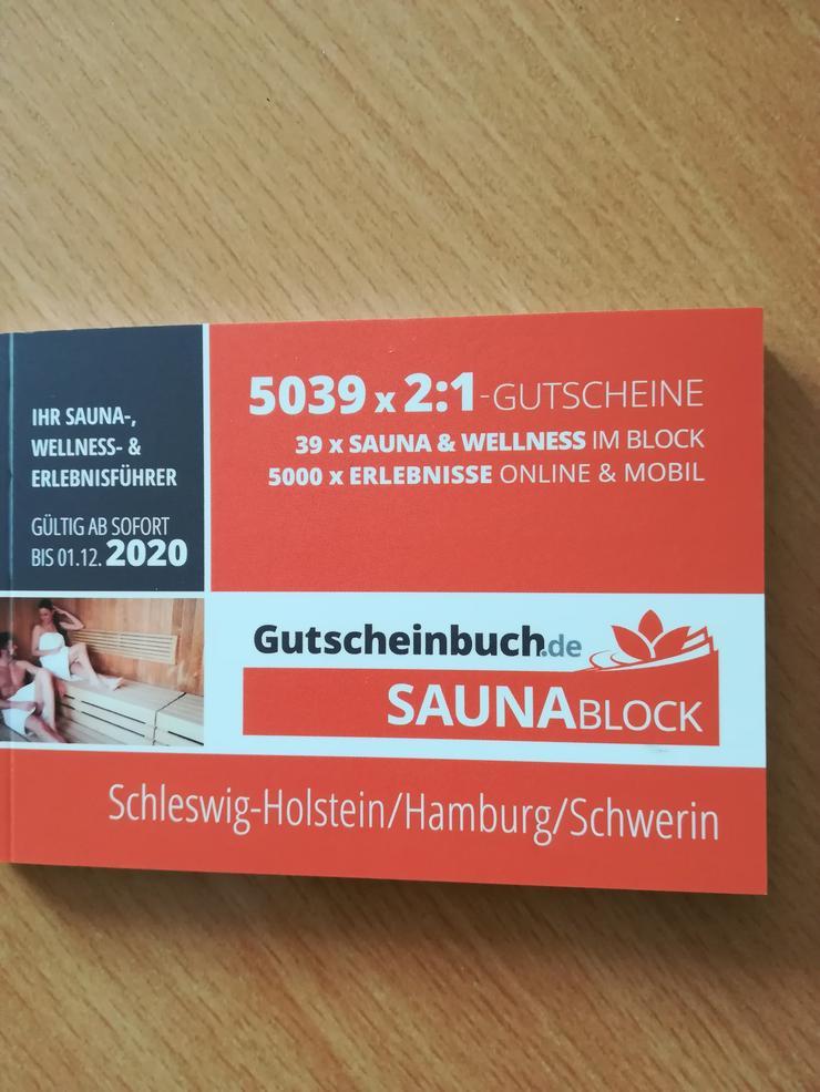 Sauna Block von Gutscheinbuch - Sport & Wellness - Bild 1