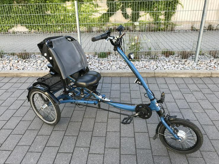 Elektrisches Dreirad PFIFF-Scootertrike 5-Gang, top Zusand, neuer Akku, VB 2,200,00 Euro