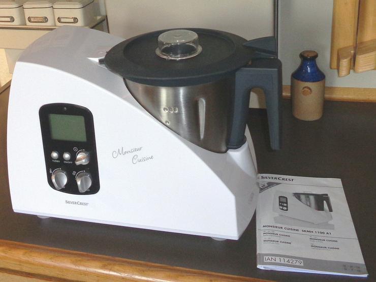 Küchenmaschine SilverCrest Monsieur Cusine SKMH 1100 A1 in ...