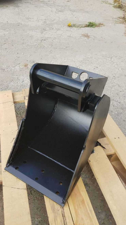 Tieflöffel für Minibagger 0,8 - 2,0 Tonnen Breite 50 cm Inhalt 49 Baggerlöffel