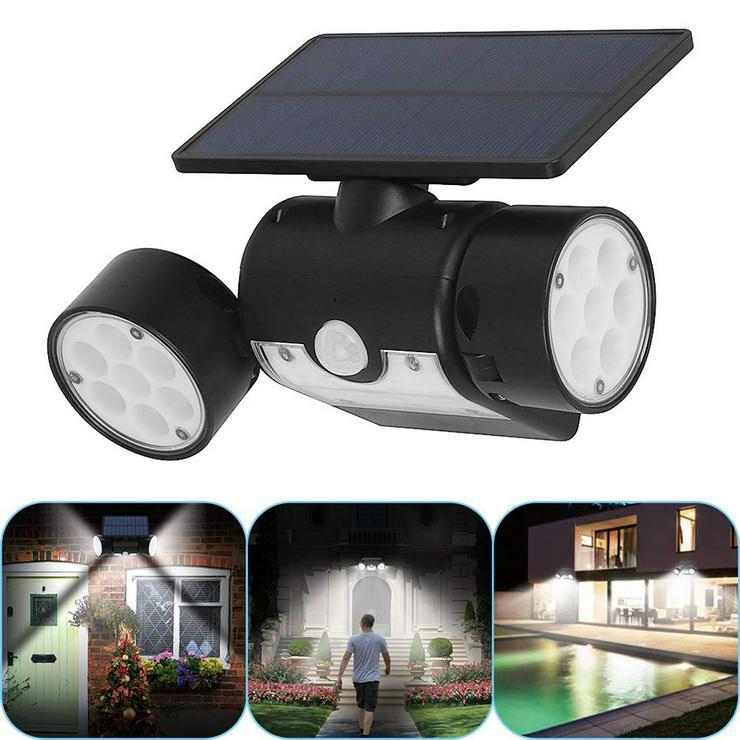 Solarbewegungs-Sensor Spotlights