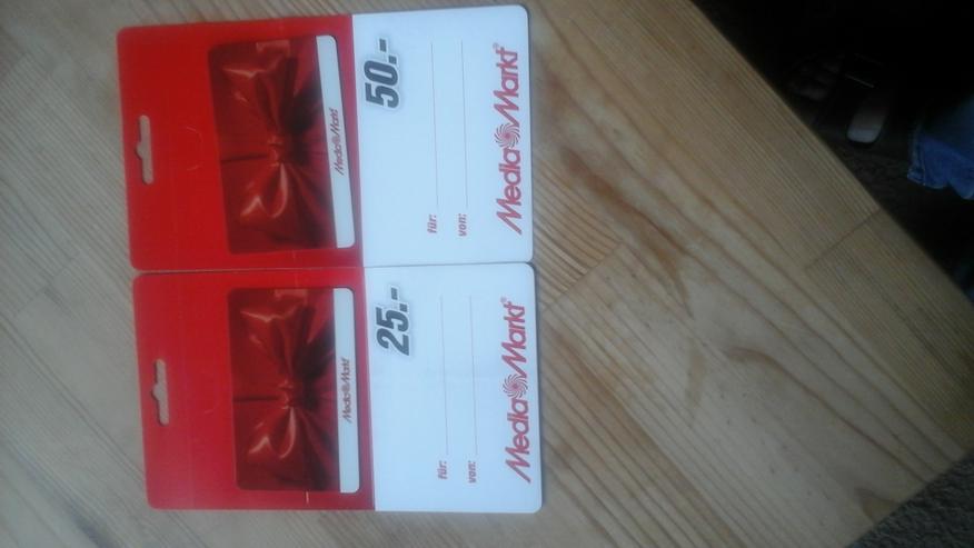 Verkaufe 2 MediaMarkt Geschenkgutscheine günstig - Technik & Elektronik - Bild 1
