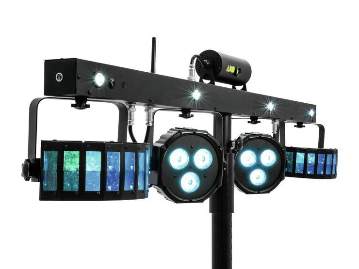 Bild 3: Verleih Eurolite Showlaser-Lichteffektleiste I Partylicht