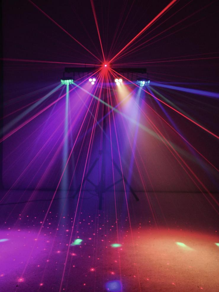Bild 4: Verleih Eurolite Showlaser-Lichteffektleiste I Partylicht