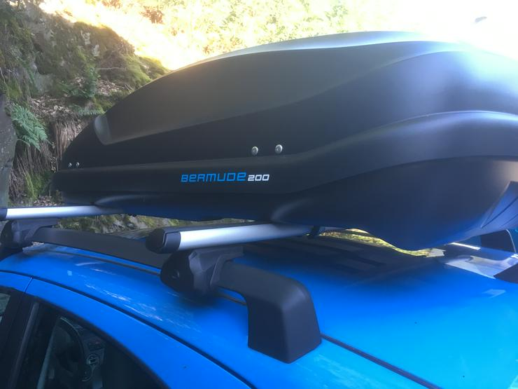 Dachbox Bermude 200 - einfache Handhabung, ohne Werkzeug!