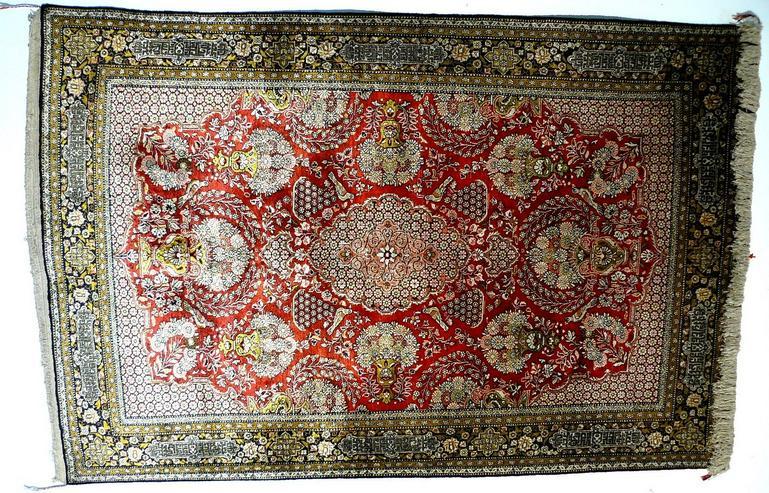 Orientteppich Ghom Seide superfein 160x102 (T034)