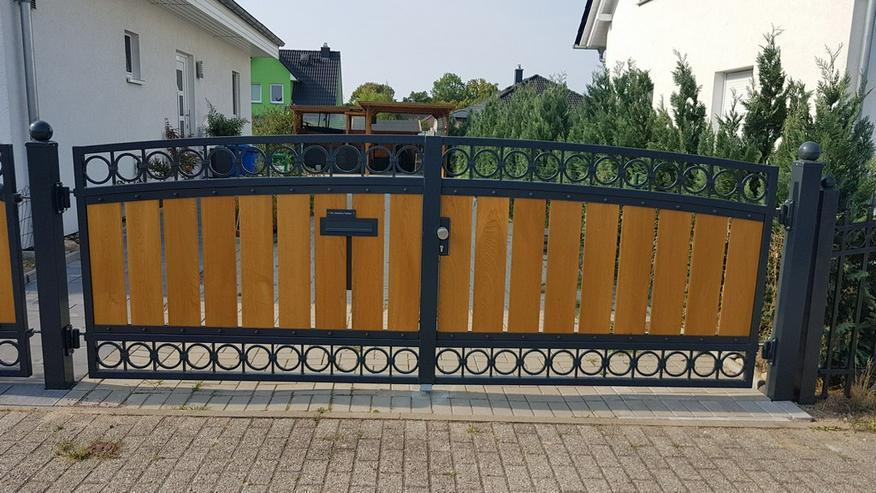 Bild 6: Zäune, Metallzaune aus Polen, Tore ,Schmiedezaun