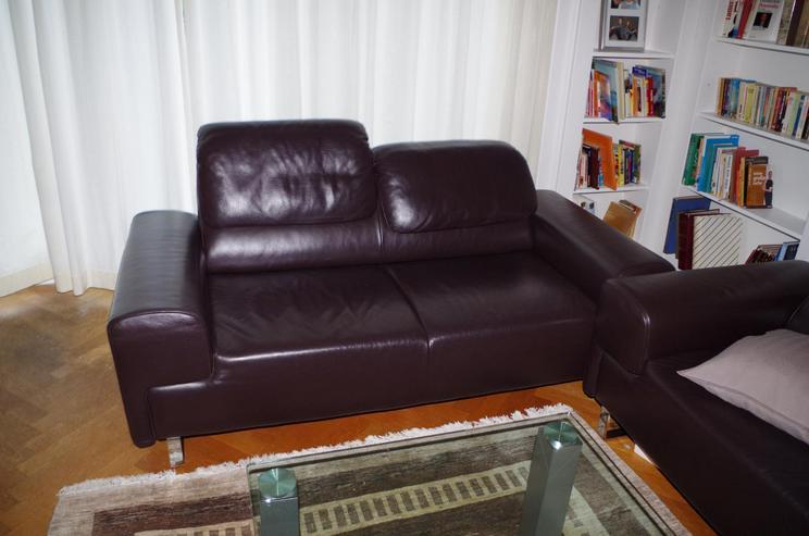 Lausser Leder Sofa 1A-Zustand