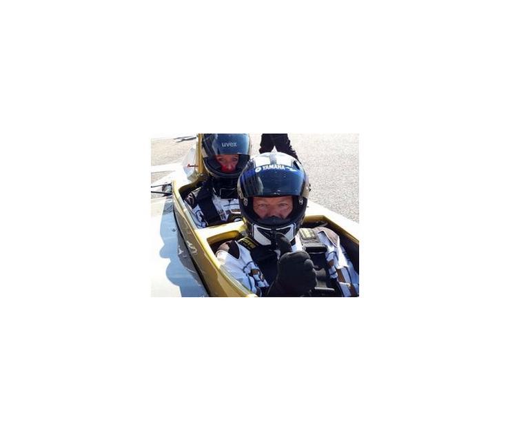 Bild 2: Formel Renntaxi fahren Sachsenring