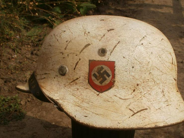 Bild 2: Stahlhelm M40 SS aus Wk2 (Camo)