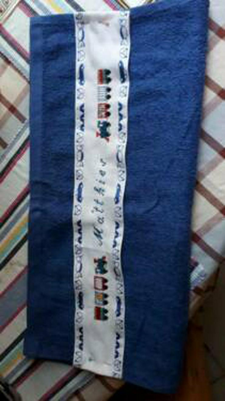 Selbst gestickte Handtücher - Basteln & Handarbeiten - Bild 1