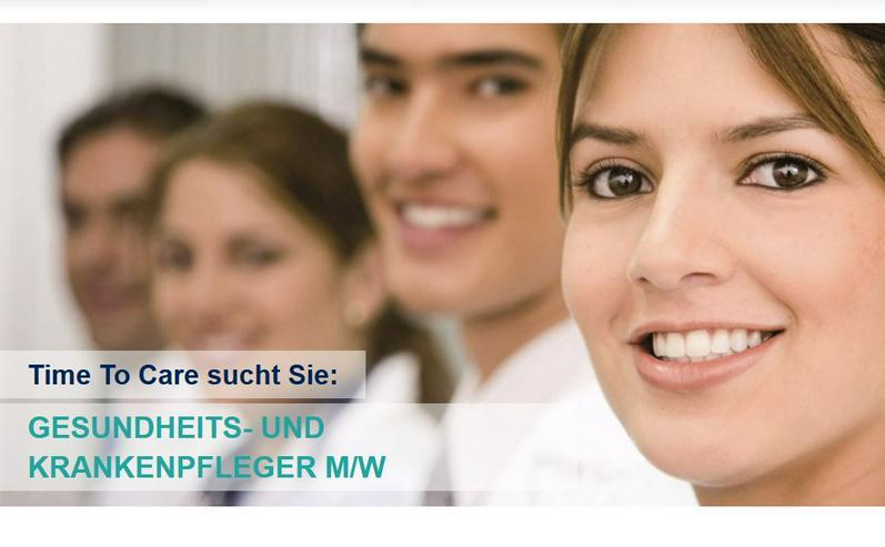 Gesundheits- und Krankenpfleger (m/w/d) ab 20,- €/h + Zuschläge