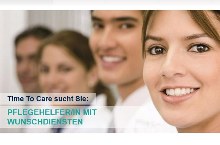 Pflegehelfer/in mit Pflegebasiskurs (m/w/d) 12,50 €/h plus Zuschläge