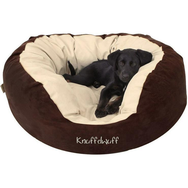Knuffelwuff Hundebett Dooly Gr. L, zum reinkuscheln und wohlfühlen