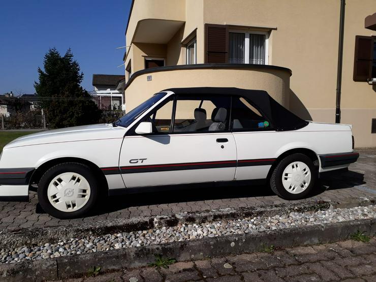 Opel Ascona Cabrio 2,0 GT
