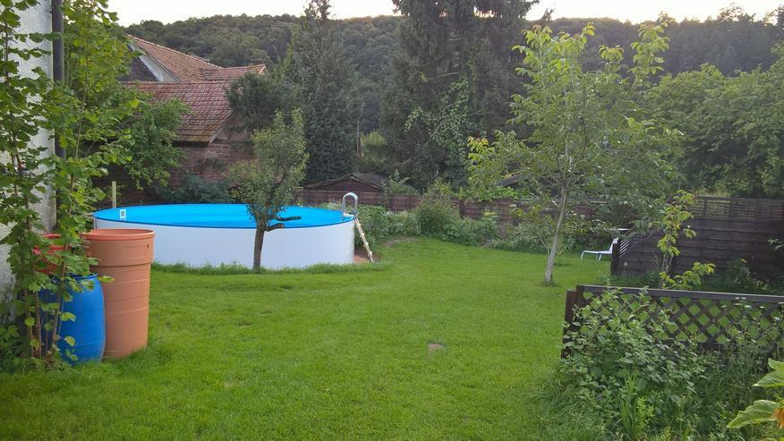 Haus Bauernhaus Hofreite U Form Hebebühne, Pool, Nebengebäude