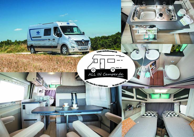 10 Wohnmobile Sorgenfrei und ALL IN mieten 1- 6 Personen 79 - 145€