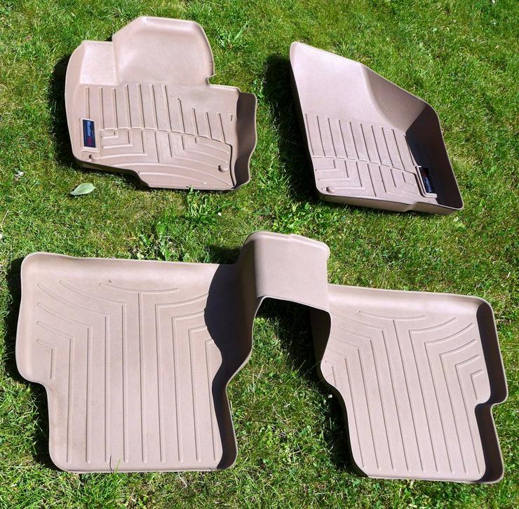 Fußmatten für Tiguan - Fußraumschalen und dazu passende Kofferraumschale